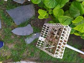 Cesto para basura  o adorno jardin