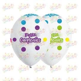 Globos impresos personalizados / Globos personalizados / Globos R12 / Globos R20 / Globos R40 / Globos de Latex