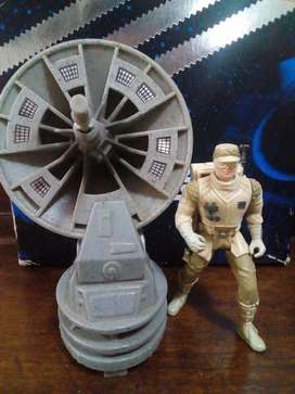 hoth rebel soldier anti vehicle láser cannon kenner