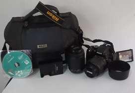 Nikon D5100 Profesional 2 lentes