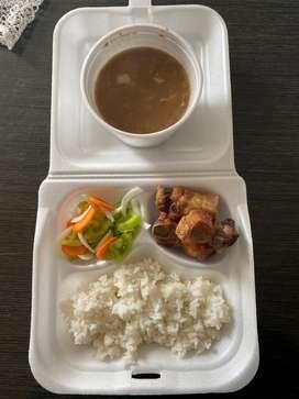 Deliciosos almuerzos por contrata