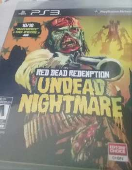 Red dead redemption  undead night mare para ps3