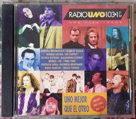 Radio Uno 103.1 Fm Año 1993 - Uno Para Todos - Excelente