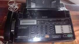 TELEFONO FAX PANASONIC KXF90 CON GRABADOR CONTESTADOR