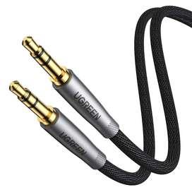 Cable Jack 3.5mm A 3.5mm De Audio Auxiliar 2 Metros Ugreen