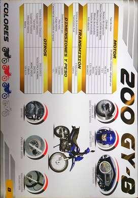 Moto Ranger 200gy tipo pantanera año 2020