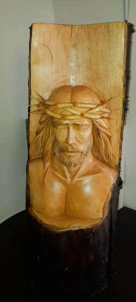 Talla artesanal en madera