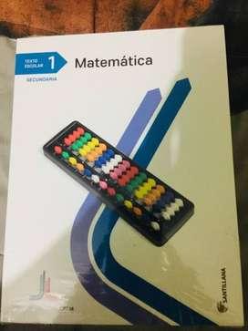 libro santillana 1ero secundaria