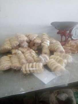 Panaderia de reparto ofrese pan adomicilio pormayor