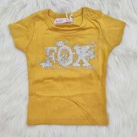 Camisetas Fox Niña