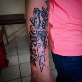 Tatuajes  en manta