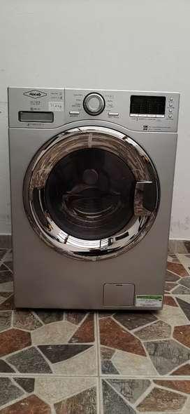Lavadora y secadora Haceb