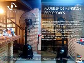 ALQUILER DE ABANICO ASPERSOR