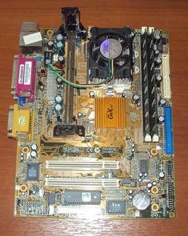 Motherboard Socket 370 Y Slot1  Micro Pentium 3  Memorias