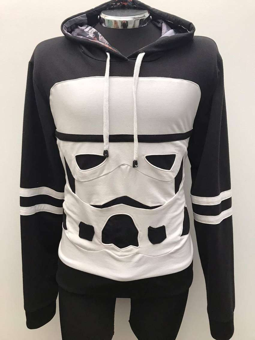 Hoodie Darth Vader, Stormtrooper Masculino. Diseño Exclusivo. 0