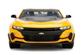 Chevy Camaro 2016 Bumblebee Escala 1:24, 23 Centímetros de Largo, Marca Jada