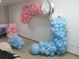 Se vende arco de globos