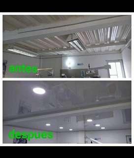Me ofrezco como instalador y decorador de interiores