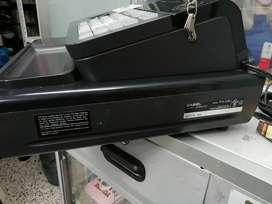 Caja registradora y vitrina punto de pago