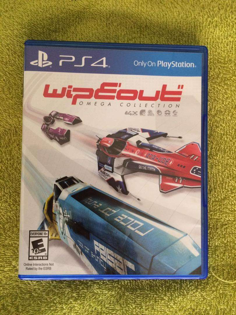 Wipeout Omega Collection PS4 0