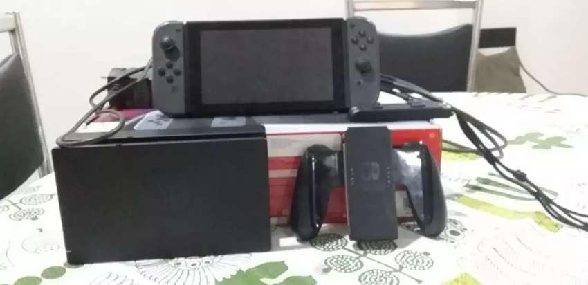 Nintendo switch +3 juegos !Líquido! 0