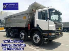 Camión Volquete Scania P460 HP 8x4 año 2014