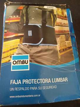 Faja protectora lumbar OMBÚ nueva