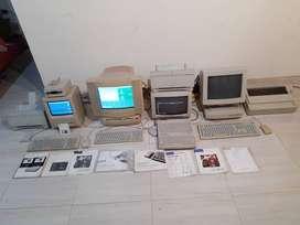Colección De  Macintosh Clásicos 1987, 1988, 1993, 1996 Impresoras vintagge apple MAC