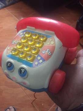 Teléfono clásico Fisher Price