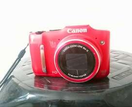 Cámara Canon Sx160 Is 16 Mp