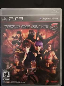 Video Juego Dead or Alive 5 PS3