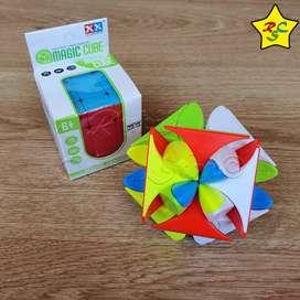 Clover Cubo Rubik Trebol Suerte Petalos Curvy Stickerless
