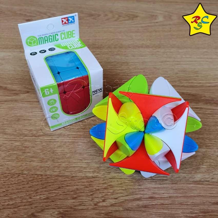 Clover Cubo Rubik Trebol Suerte Petalos Curvy Stickerless 0