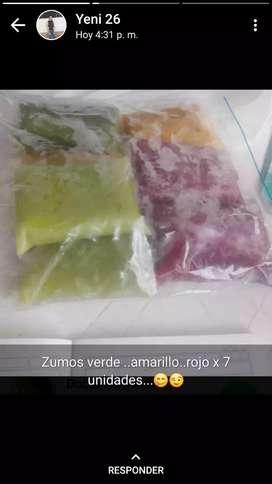 Venta de pulpa de frutas y zumos
