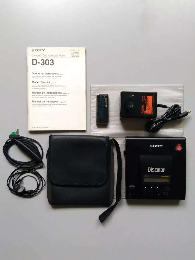 Discman Sony D-303