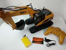 Excavadora a Control Remoto HuiNa Toys 1550 Barata