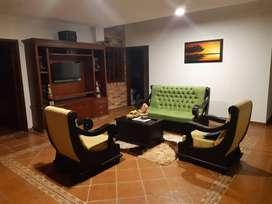 Arriendo Espectacular Casa Campestre Dotada, en Condominio cerca a Piedecuesta