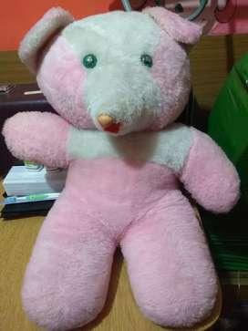 Osa grande color rosa pastel!