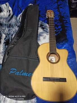 Vendo guitarra palmer electroacústica española
