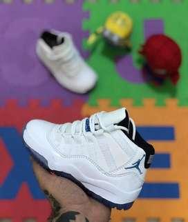 Zapatillas Jordan 11 Tallas Niños