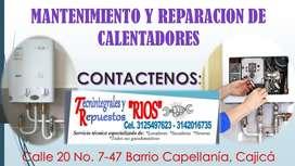 Reparación de calentadores Cajicá