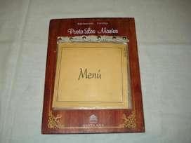 tabla de menu Retro