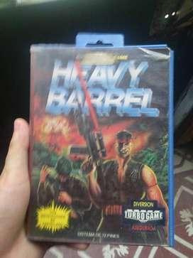 Heavy barrel nintendo nes en caja