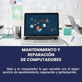 Servicio técnico de computadores a domicilio