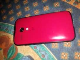 Bomper Moto Shell G Rojo