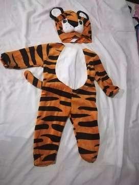 Vendo disfraz de Tigre para bebé