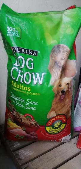 Dog chow razas grandes y medianas
