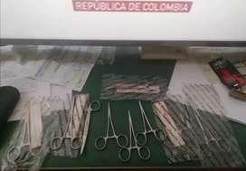 Pinzas quirúrgica