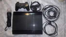 aprovecha play 3 super slim 320gb 3controles con move