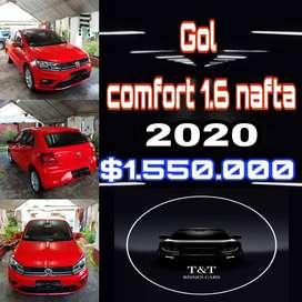 Volkswagen GOL Confort 1.6 nafta 2020